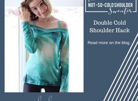 Not-So-Cold-Shoulder Hack- Double Cold Shoulder