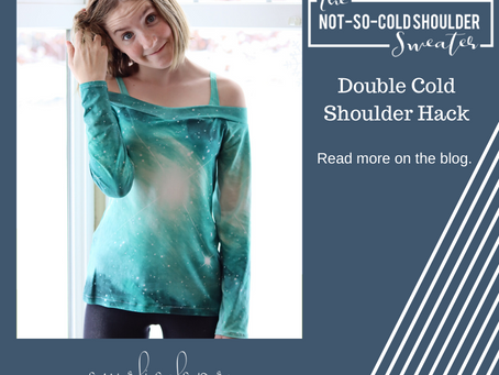 Not-So-Cold-Shoulder Hack- Double Cold Shoulder