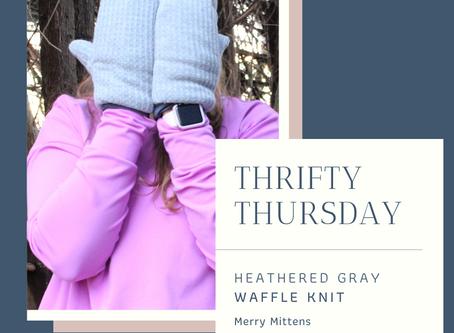 Thrifty Thursday: Merry Mittens