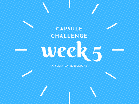 Capsule Challenge Week 5