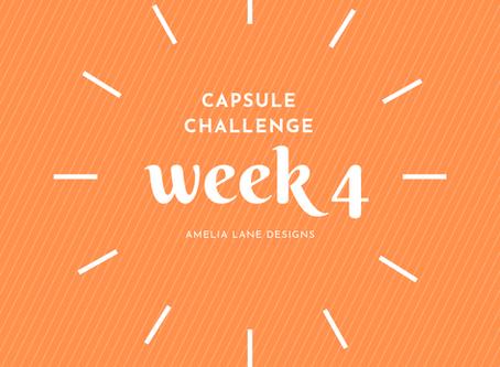 Capsule Challenge Week 4