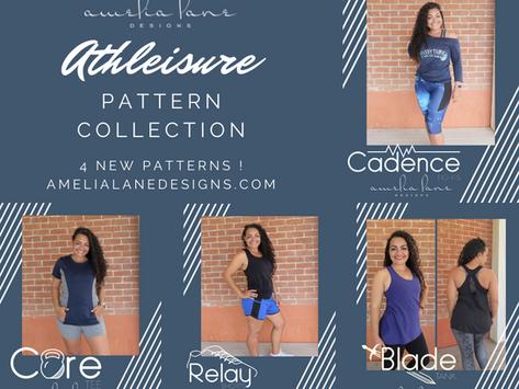 Athleisure Collection Pattern Round Up