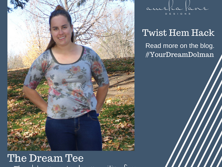 Dream Tee with a Twist