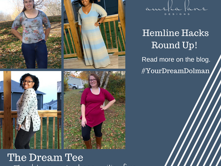 Dream Tee Hemline Hacks