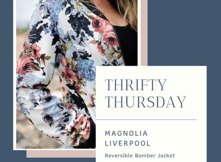 Thrifty Thursday: Magnolia Liverpool Bomber Jacket