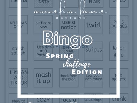 ALDbingo Spring Challenge Edition