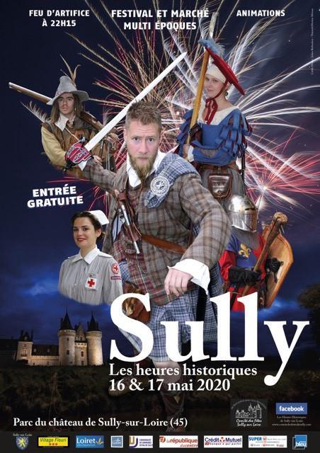 LES HEURES HISTORIQUES DE SULLY SUR LOIRE (45) 16&17 MAI 2020