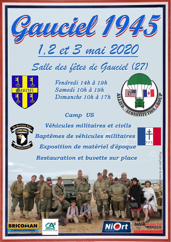 Le 79TH MEMORY GROUP  à la libération de Gauciel