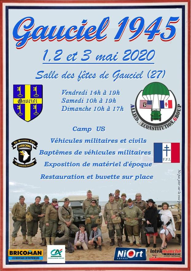 LIBERATION DE GAUCIEL (27) 1,2&3 MAI 2020