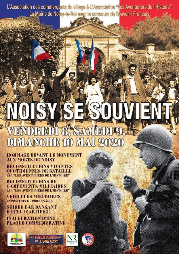 NOISY LE ROI (78) SE SOUVIENT 8,9&10 MAI 2020