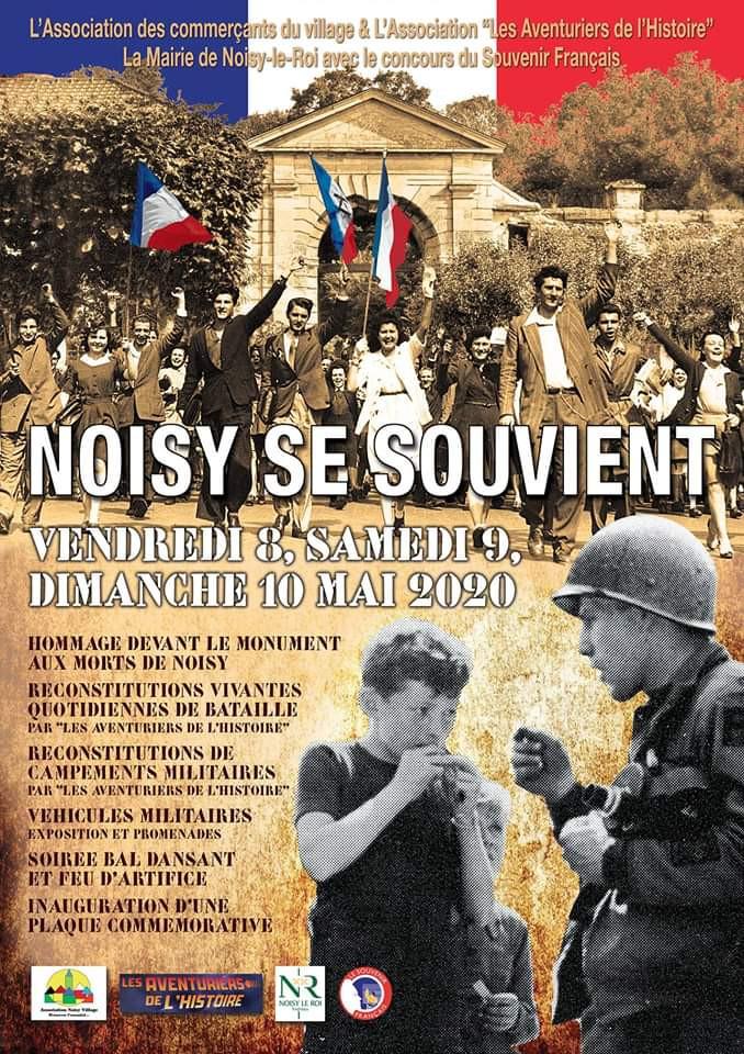 Le 79TH MEMORY GROUP à la libération de Noisy le Roi (78)