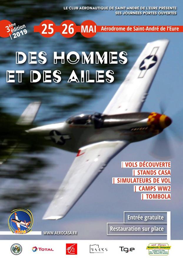 DES HOMMES ET DES AILES Saint André de l'Eure(45) 25&26 Mai 2019