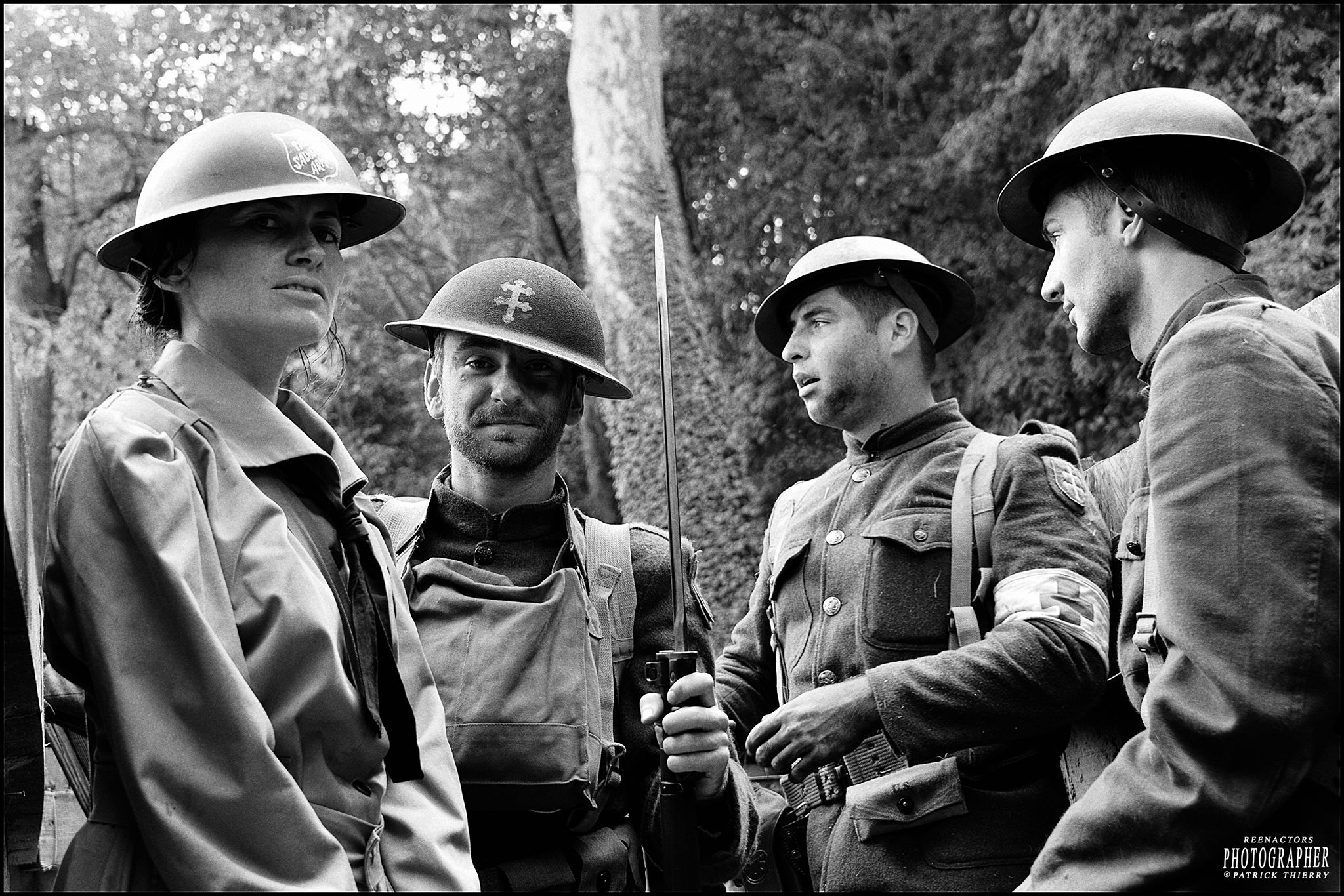79TH M-G Poissy en uniformes