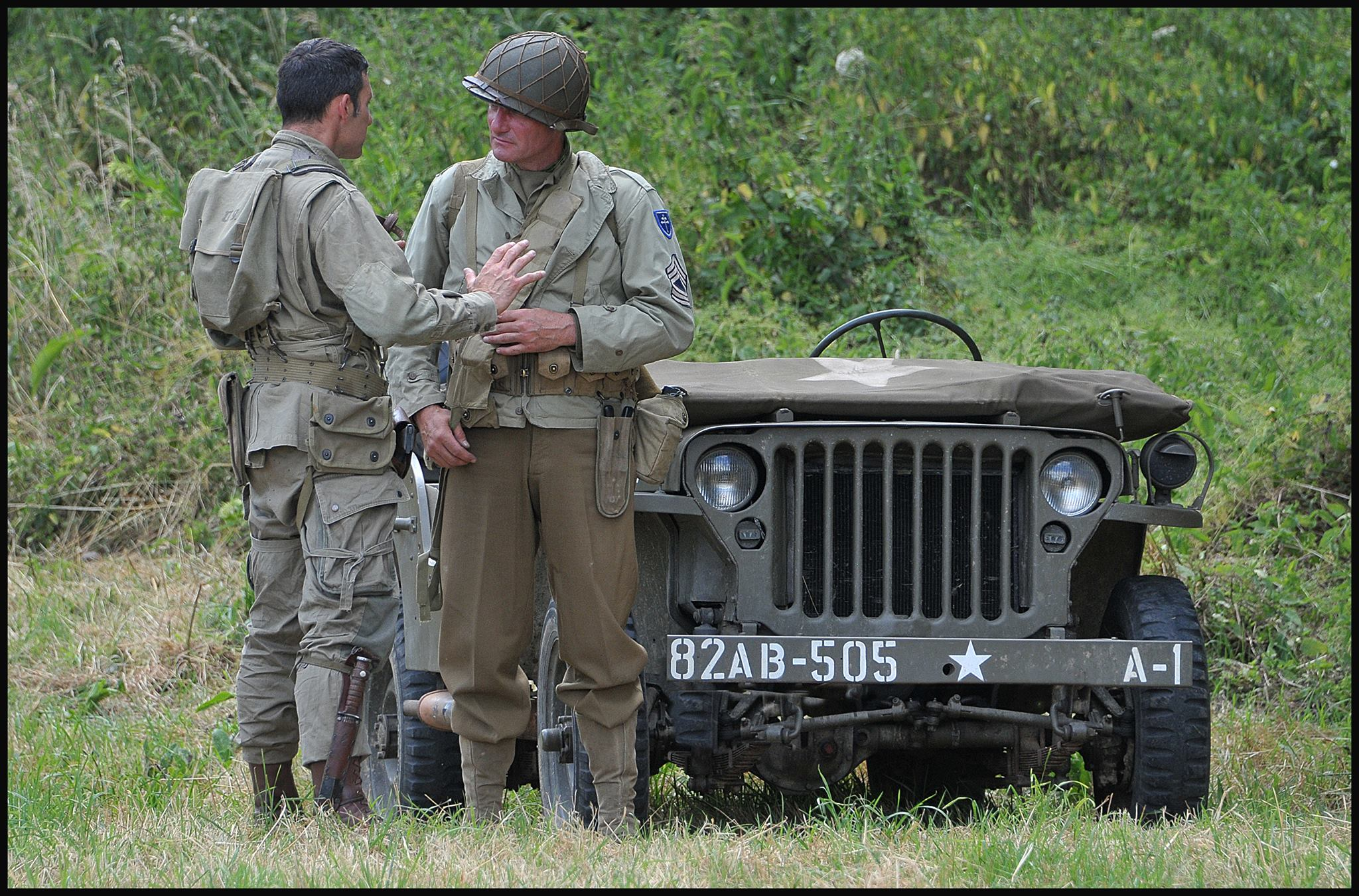 79TH MEMORY GROUP jeep