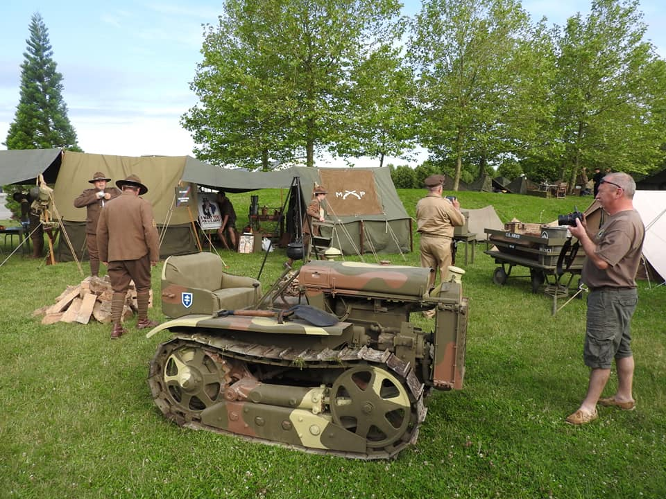 0006 Artillery tracteur 1918 79TH MEMORY GROUP