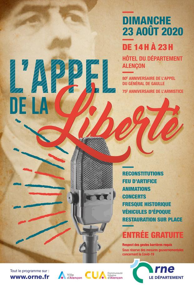 L'APPEL DE LA LIBERTÉ ALENÇON (61) 22&23 AOUT 2020