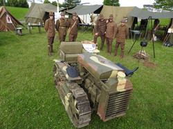 0001 tracteur artillerie 1918 79TH MEMORY GROUP