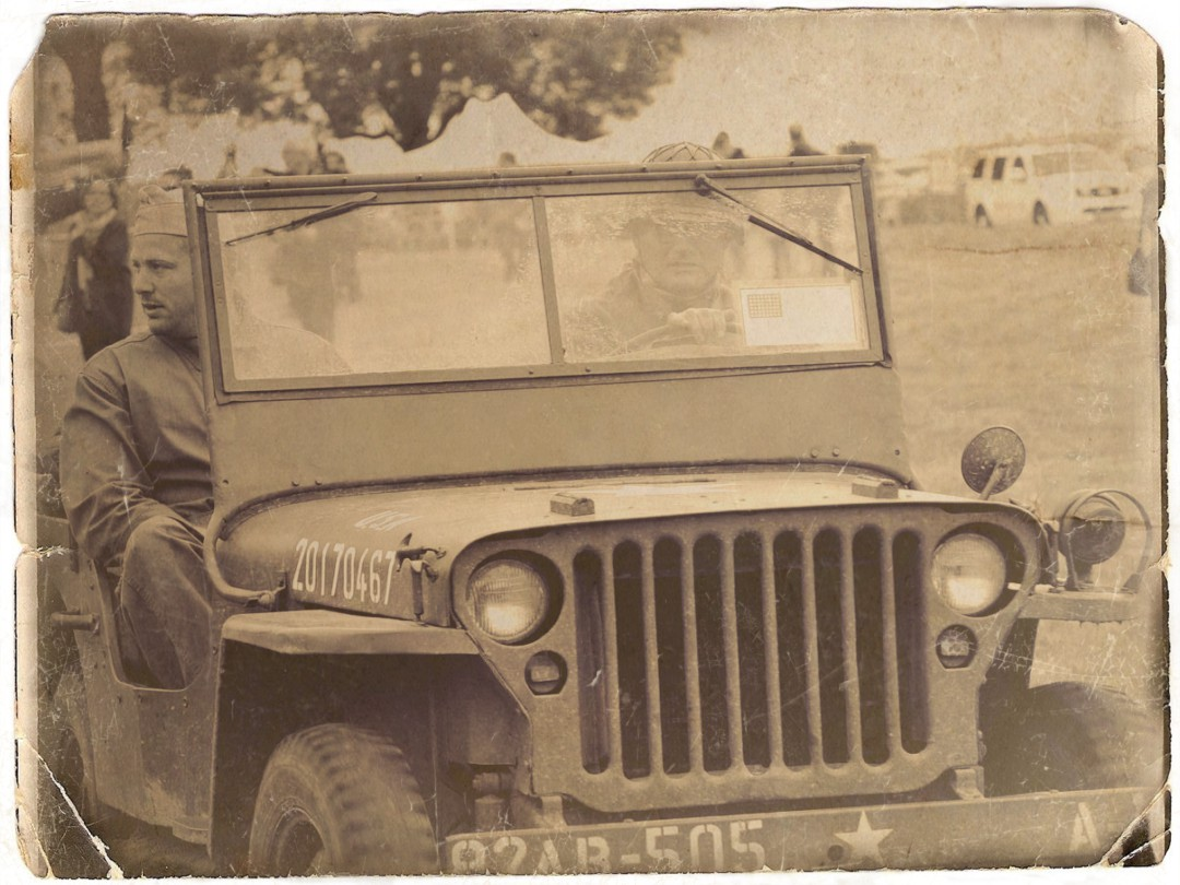 0002 Jeep willys  79TH MEMORY GROUP