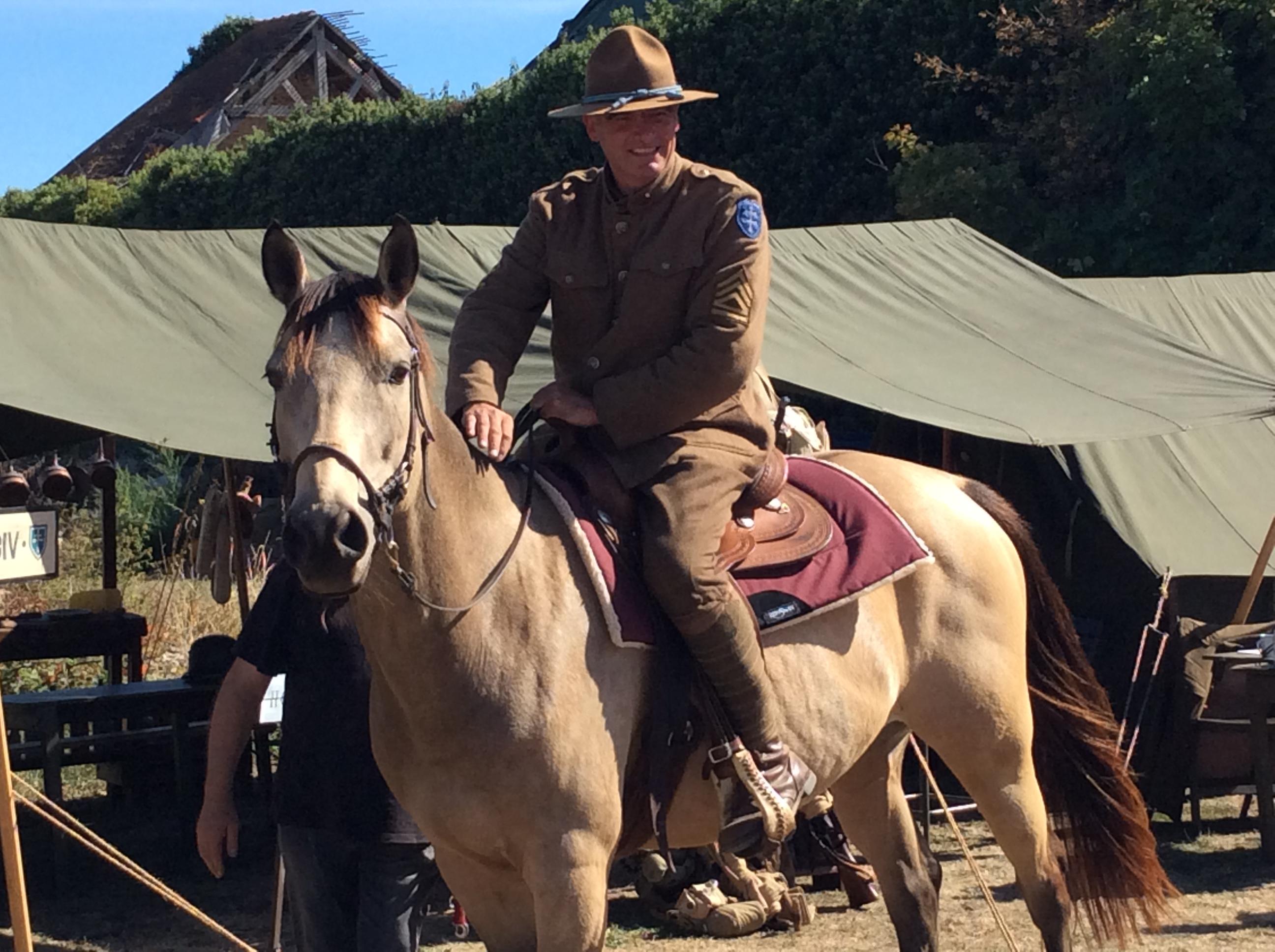 0007 Cavalery en 1918 79TH MEMORY GROUP.