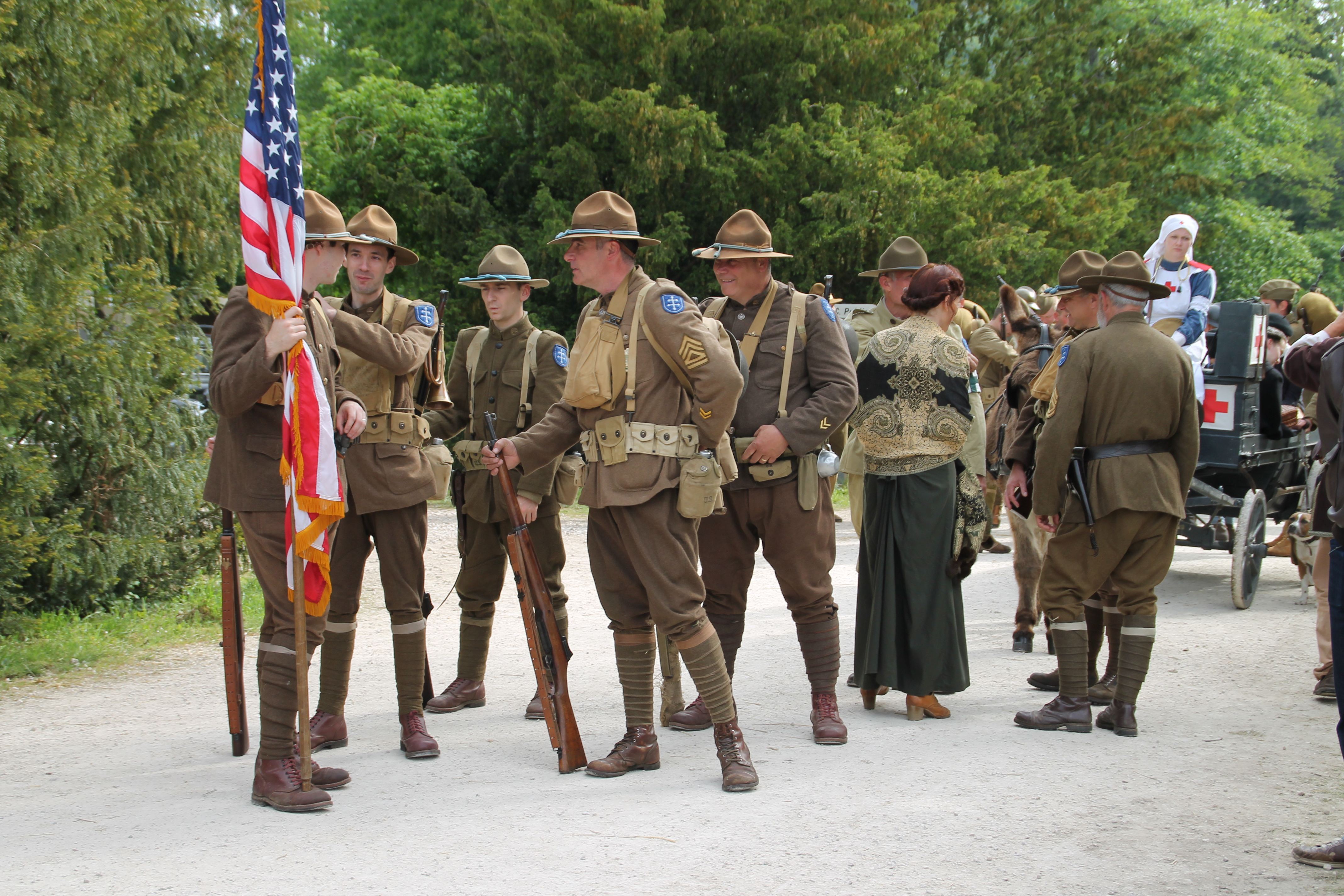 0005 Doughboys 1917 79TH MEMORY GROUP