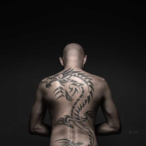 Tetování, ateliér