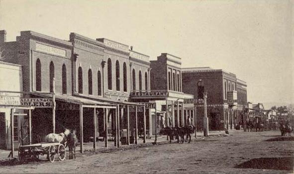 Denver in 1865
