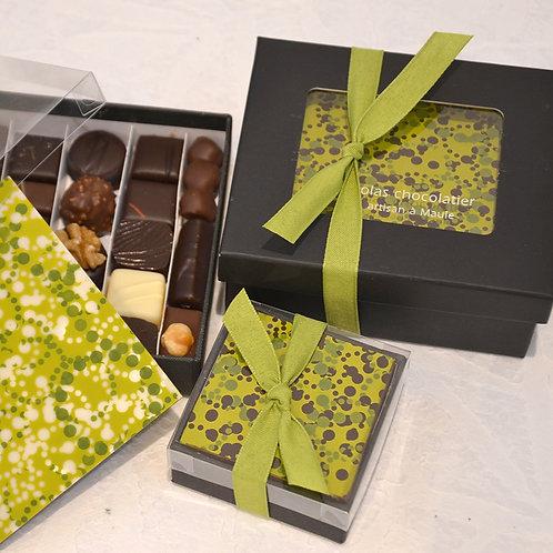 Boîtes + plaque chocolat