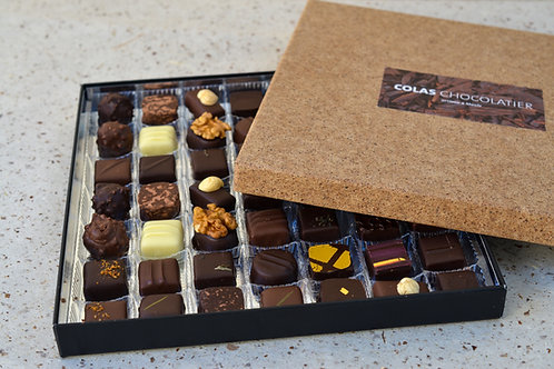 Boîtes couvercle cacao 15 cm - 160g
