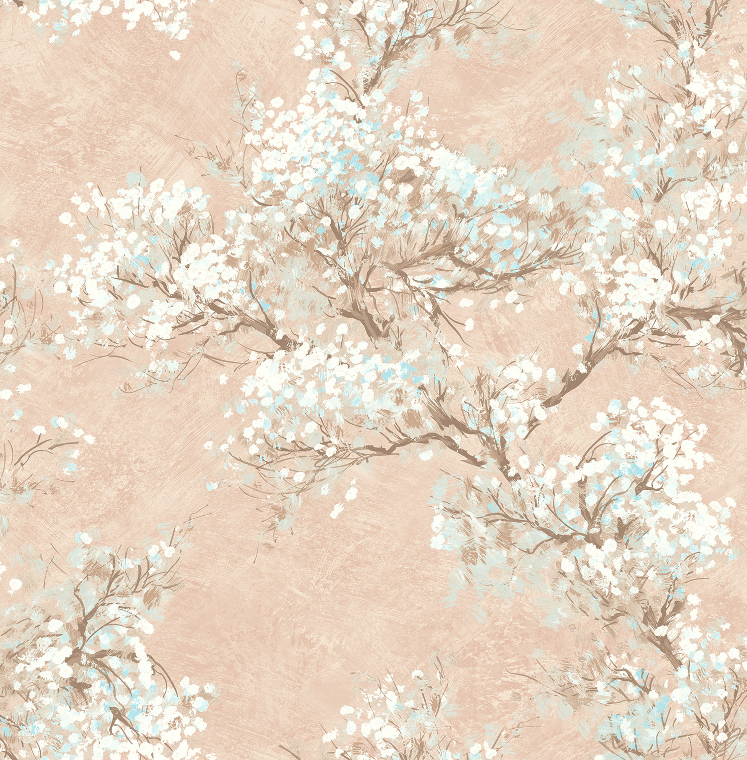 Auriol Cherry Blossom Floral Wallpaper