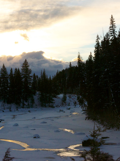 Winter's Sunrise