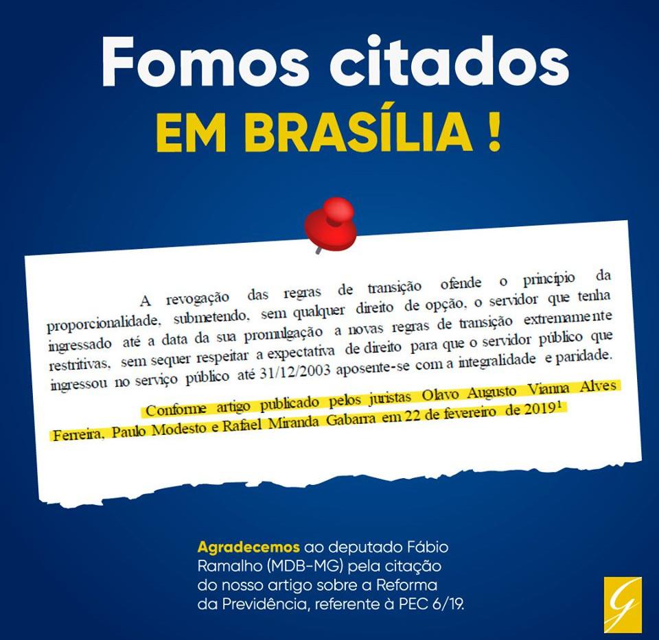 REFORMA DA PREVIDÊNCIA | Gabarra Advocacia Previdenciária