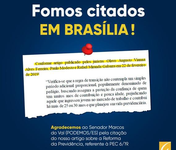 REFORMA DA PREVIDÊNCIA   Gabarra Advocacia Previdenciária