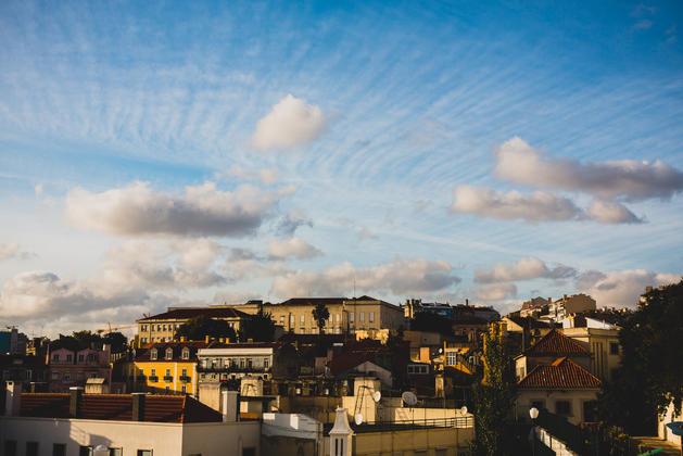 Lisbon sky