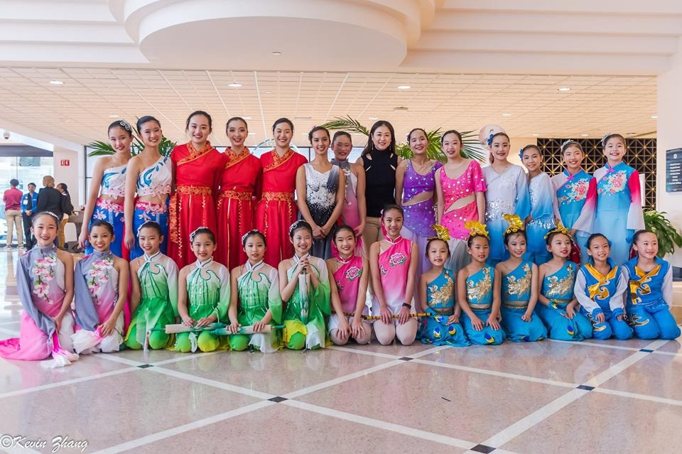 Chinese long sleeve dance, Amazing DAA performance, Dance of Asian America, young dancers, dance class