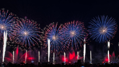 Feuerwerk in Annecy I