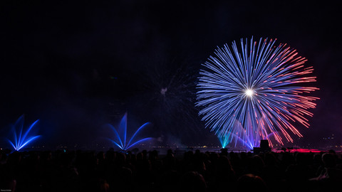 Feuerwerk in Annecy II