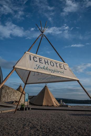 Das ICE HOTEL in Jukkasjärvi