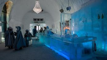 ICE-Bar im ICE HOTEL