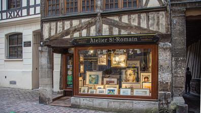 In den Gassen von Rouen I
