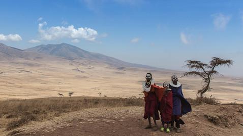 Junge Massai