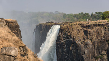Blick nach Sambia