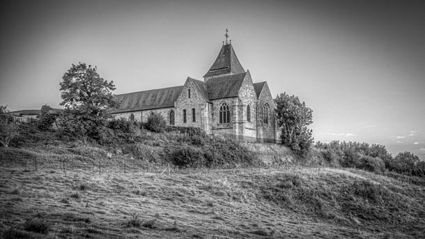 Die Kirche von Varengeville-sur-mer