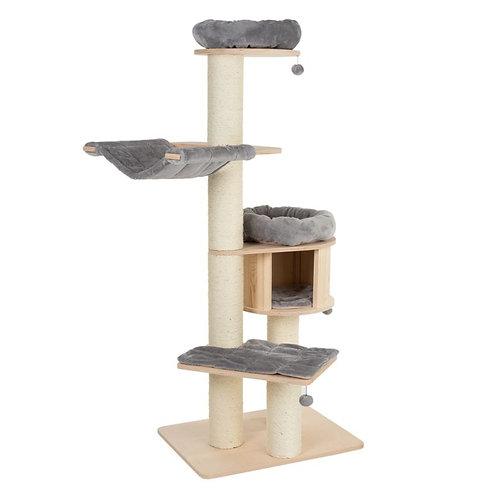Hamac arbre à chat Natural Paradise XL Édition Premium