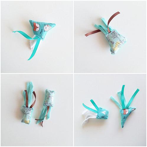 Eco-jouets bleu/vert