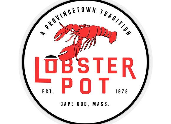 Lobster Pot Logo Sticker