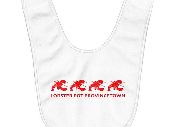 Lobster Pot Baby Bib