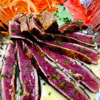 Blackend Tuna Sashimi