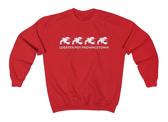 """""""Vintage"""" Unisex Lobster Pot Crewneck Sweatshirt"""