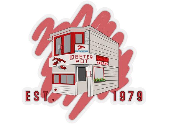 Lobster Pot Storefront Sticker
