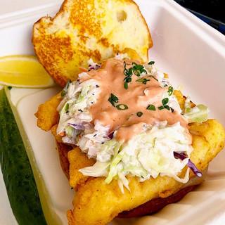 Cod Fish Reuben